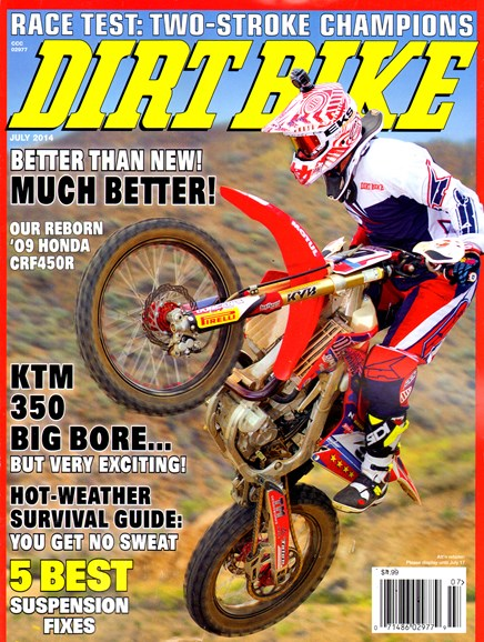 Dirt Bike Cover - 7/1/2014