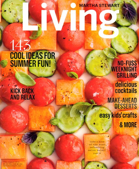Martha Stewart Living Cover - 7/1/2014
