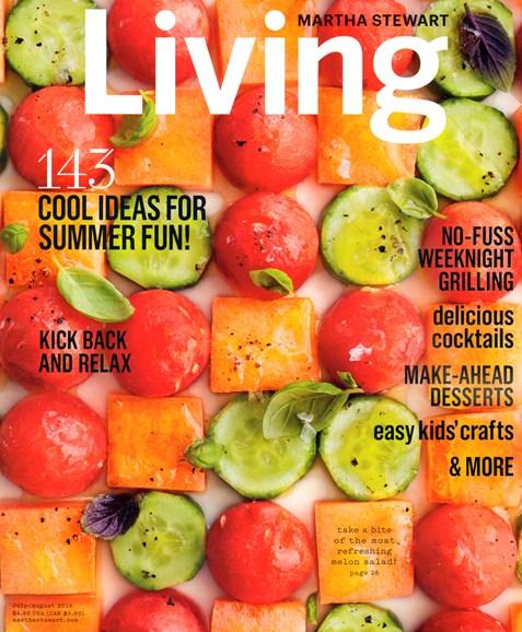 Martha Stewart Living Cover - 7/1/2014