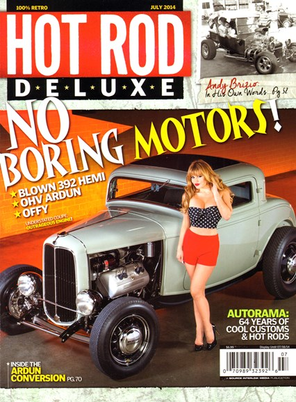 Hot Rod Deluxe Cover - 7/1/2014