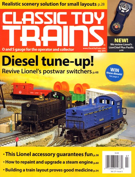Classic Toy Trains Cover - 7/1/2014