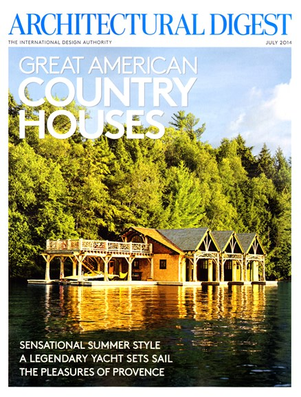 Architectural Digest Cover - 7/1/2014