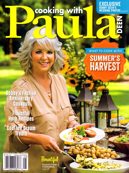 Cooking With Paula Deen Cover - 7/1/2014