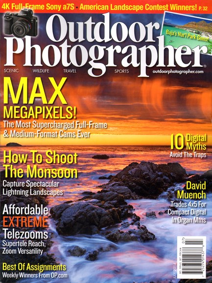 Outdoor Photographer Cover - 7/1/2014