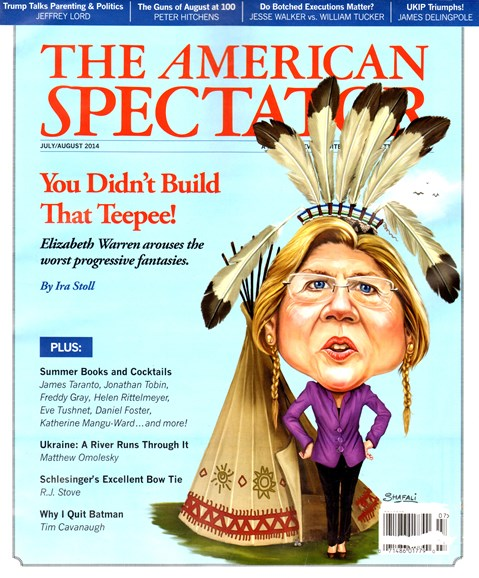 The American Spectator Cover - 7/1/2014