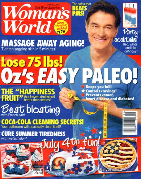 Woman's World Cover - 6/30/2014