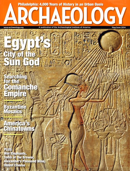 Archaeology Cover - 5/1/2014
