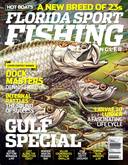 Florida Sport Fishing Cover - 7/1/2014