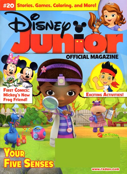 Disney Junior Cover - 7/1/2014