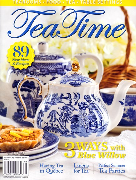 Tea Time Cover - 7/1/2014
