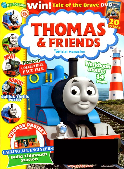 Thomas & Friends Cover - 7/1/2014
