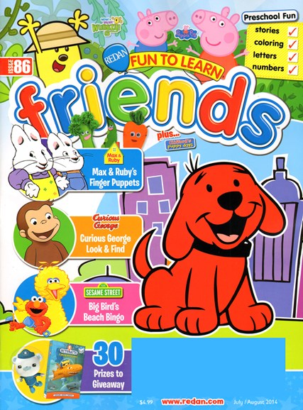 Preschool Friends Cover - 7/1/2014