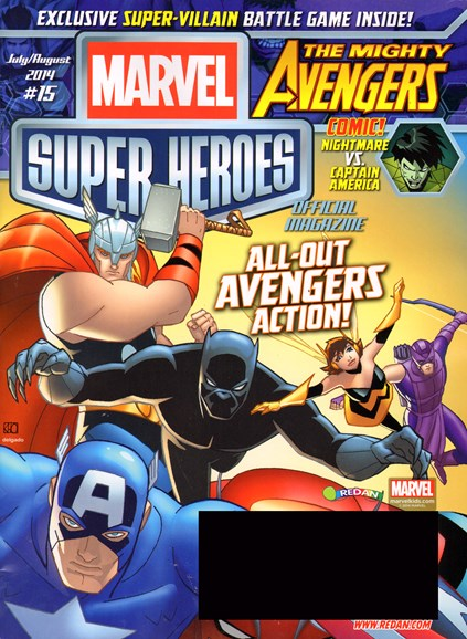 Marvel Super Heroes Cover - 7/1/2014