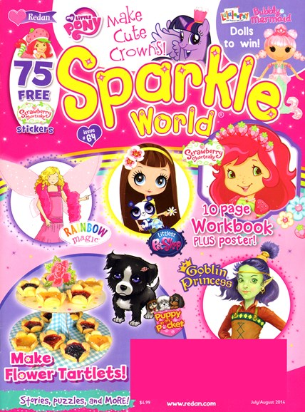 Sparkle World Cover - 7/1/2014