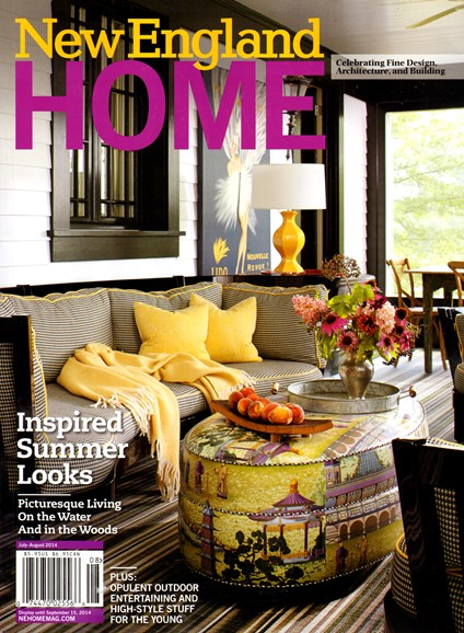 New England Home Cover - 7/1/2014