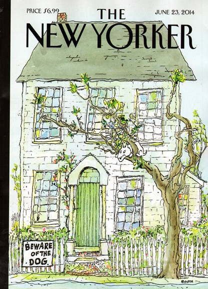 The New Yorker Cover - 6/23/2014