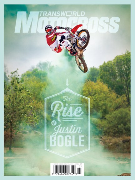 Transworld Motocross Cover - 7/1/2014