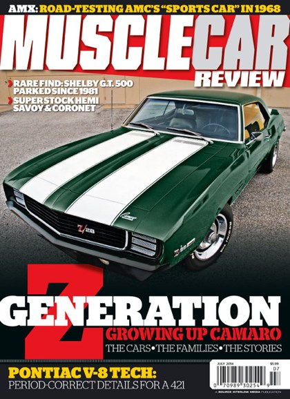 Muscle Car Review Cover - 7/1/2014