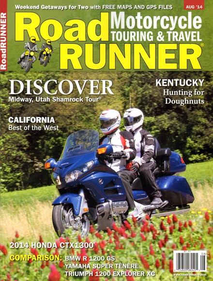 Road RUNNER Motorcycle & Touring Cover - 8/1/2014