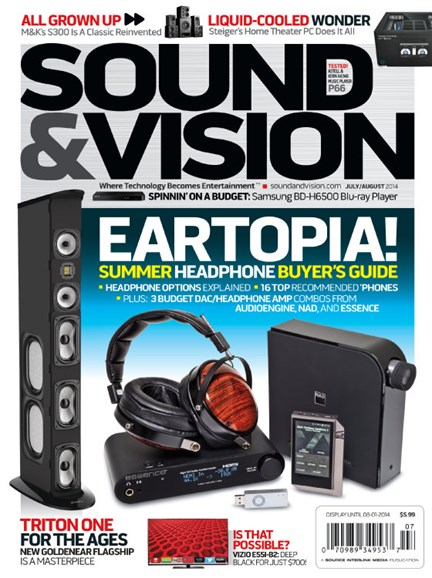 Sound & Vision Cover - 7/1/2014