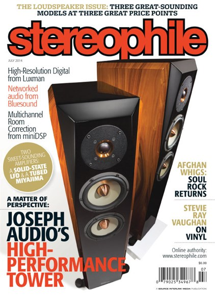 Stereophile Cover - 7/1/2014