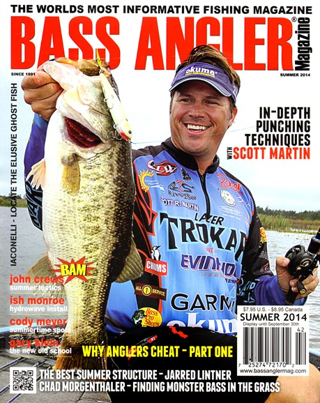 Bass Angler Cover - 6/1/2014