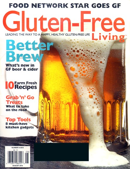 Gluten-Free Living Cover - 8/1/2014