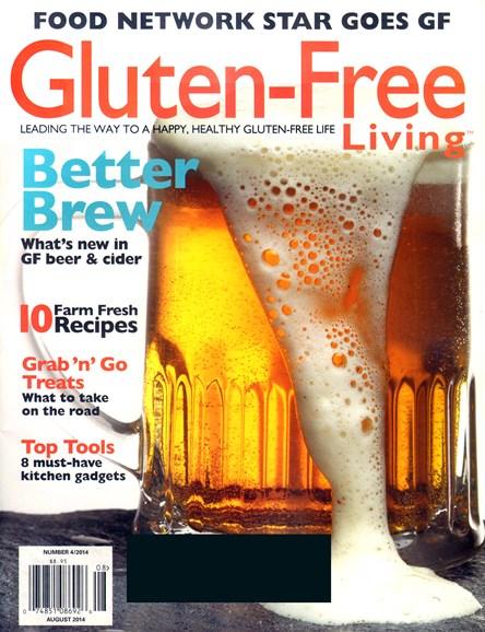 Gluten-Free Living Cover - 8/1/2014