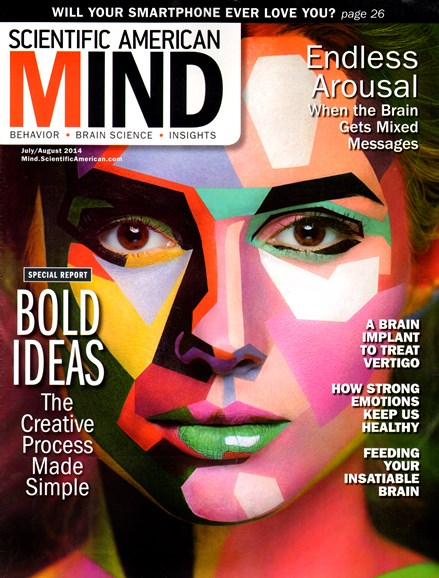 Scientific American Mind Cover - 7/1/2014