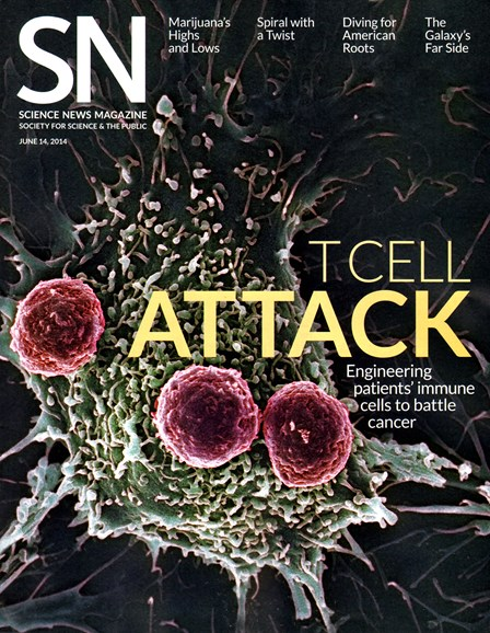 Science News Cover - 6/14/2014