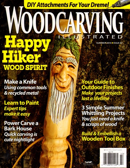 Wood Carving Illustrated Cover - 6/1/2014