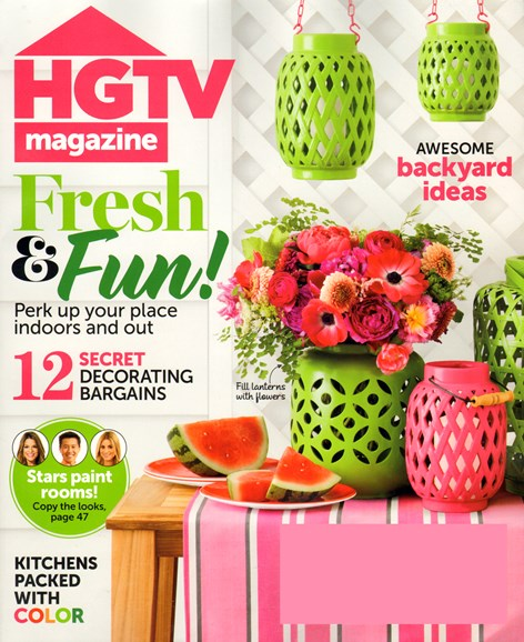 HGTV Cover - 7/1/2014