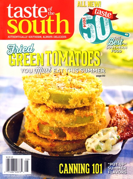 Taste of the South Cover - 7/1/2014