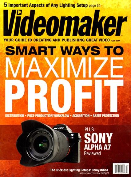 Videomaker Cover - 7/1/2014