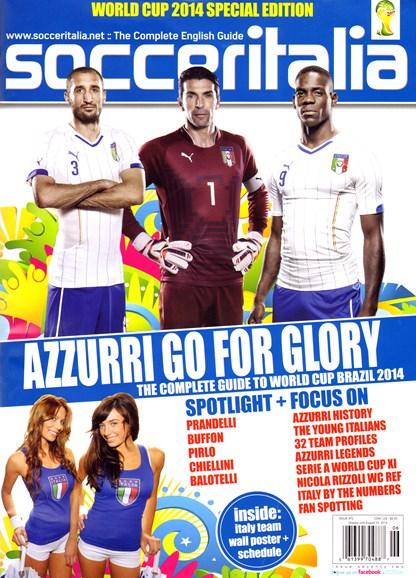 Soccer Italia Cover - 6/1/2014