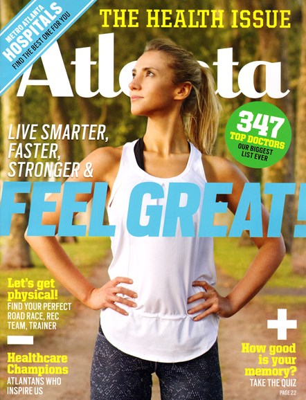 Atlanta Magazine Cover - 7/1/2014