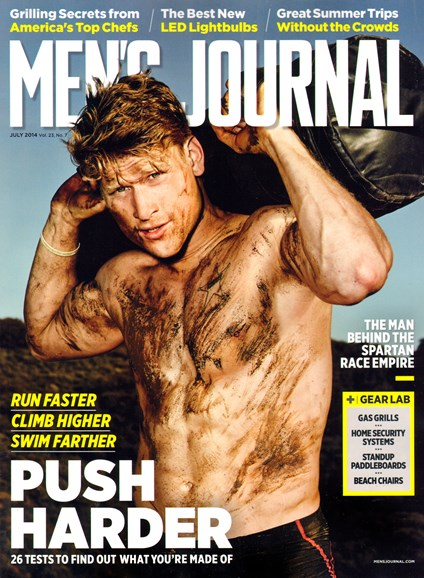 Men's Journal Cover - 7/1/2014