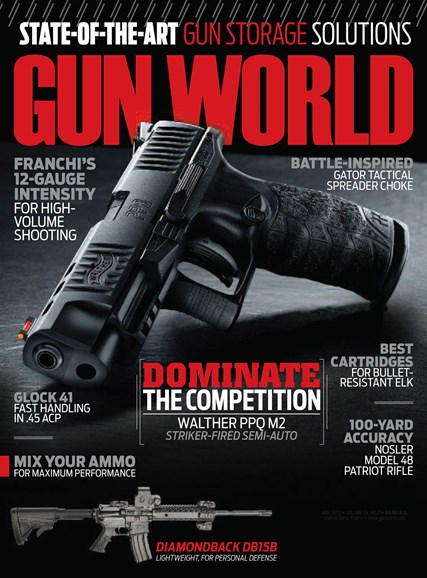 Gun World Cover - 8/1/2014