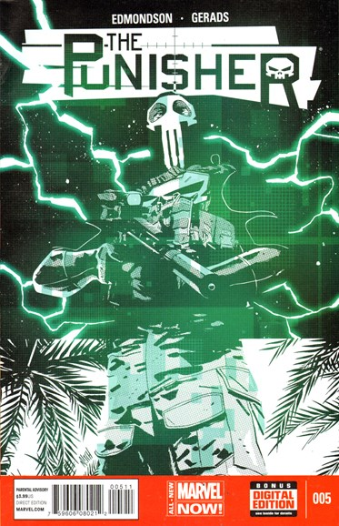 The Punisher Cover - 7/1/2014