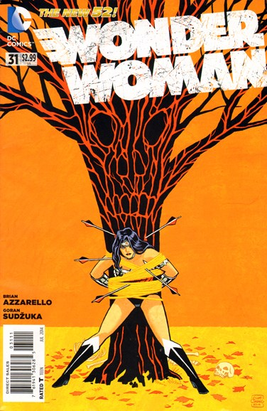 Wonder Woman Cover - 7/1/2014