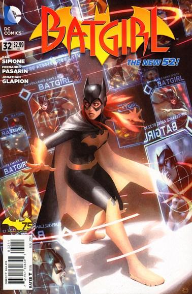 Batgirl Cover - 8/1/2014