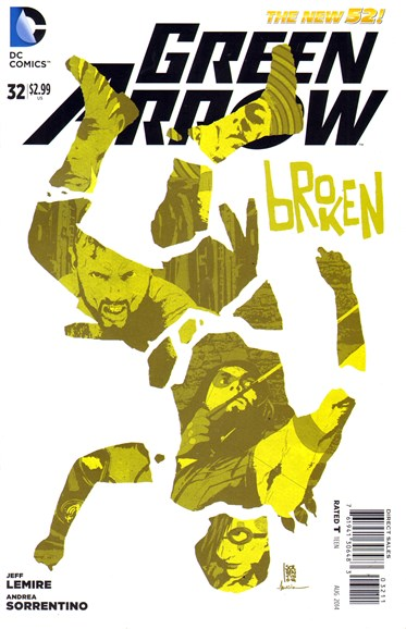 Green Arrow Cover - 8/1/2014