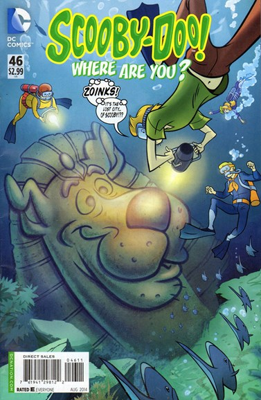 Scooby Doo, Where Are You? Cover - 8/1/2014