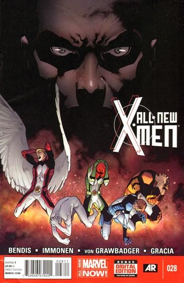 X-Men Blue Cover - 8/1/2014