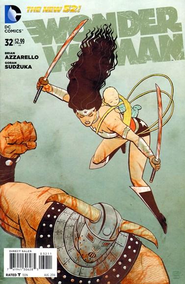Wonder Woman Cover - 8/1/2014