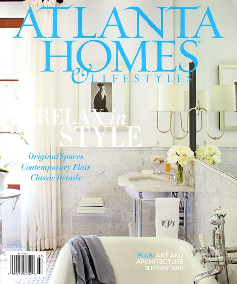 Atlanta Homes & Lifestyles Cover - 7/1/2014