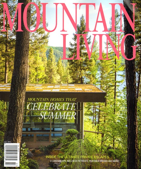 Mountain Living Cover - 7/1/2014