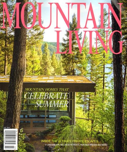 Mountain Living Cover - 7/1/2014