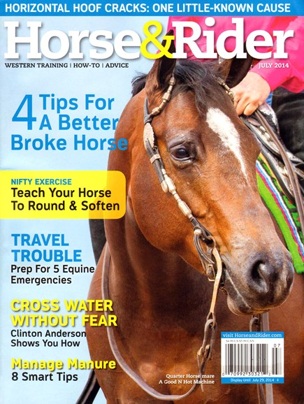 Horse & Rider Cover - 7/1/2014