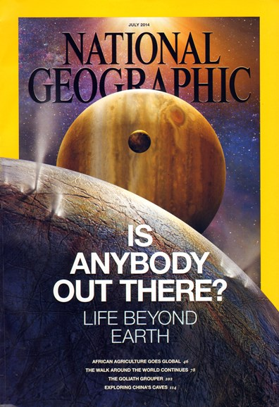 National Geographic Cover - 7/1/2014